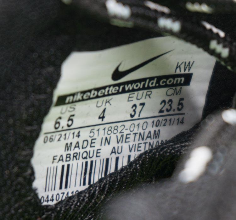 большое фото №6 Nike Roshe Run полностью черные в крапинку. Топ качество!!!