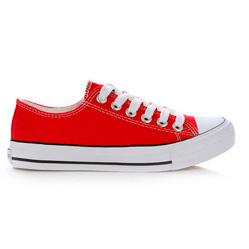 Красные женские полукеды RenBen 1159 8635