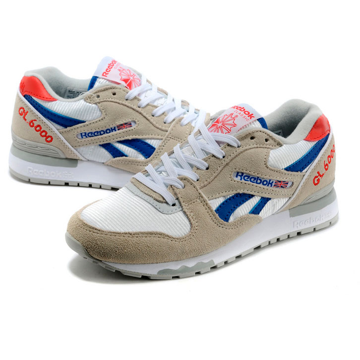 фото bottom Женские кроссовки Reebok GL6000 V59145 GRAY/RED/BLUE bottom