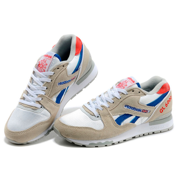 фото front Женские кроссовки Reebok GL6000 V59145 GRAY/RED/BLUE front