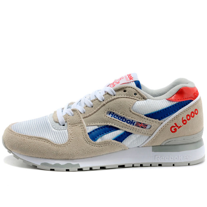 фото main Женские кроссовки Reebok GL6000 V59145 GRAY/RED/BLUE main