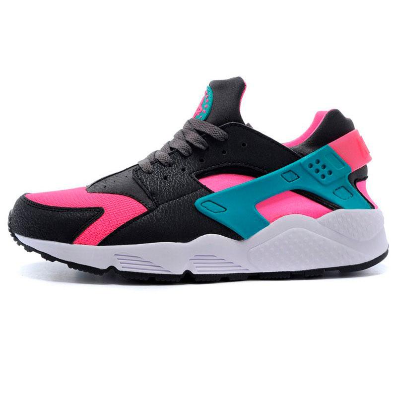 фото main Nike Huarache 318429 pink-brown-green main