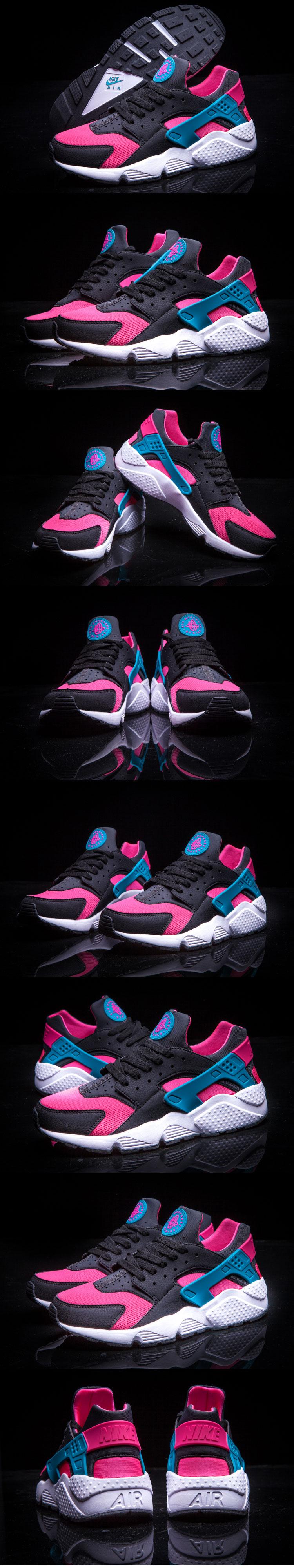 большое фото №6 Nike Huarache 318429 pink-brown-green