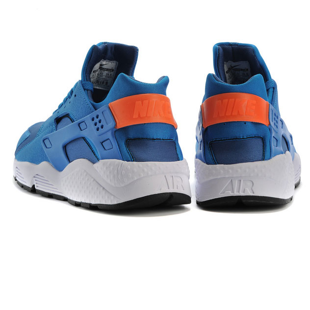 фото back Nike Huarache 318429 blue back
