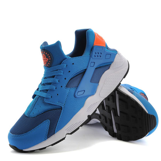 фото bottom Nike Huarache 318429 blue bottom