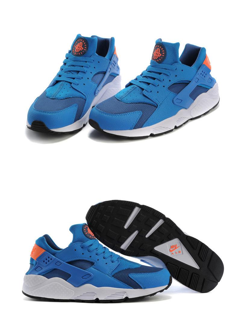 большое фото №6 Nike Huarache 318429 blue