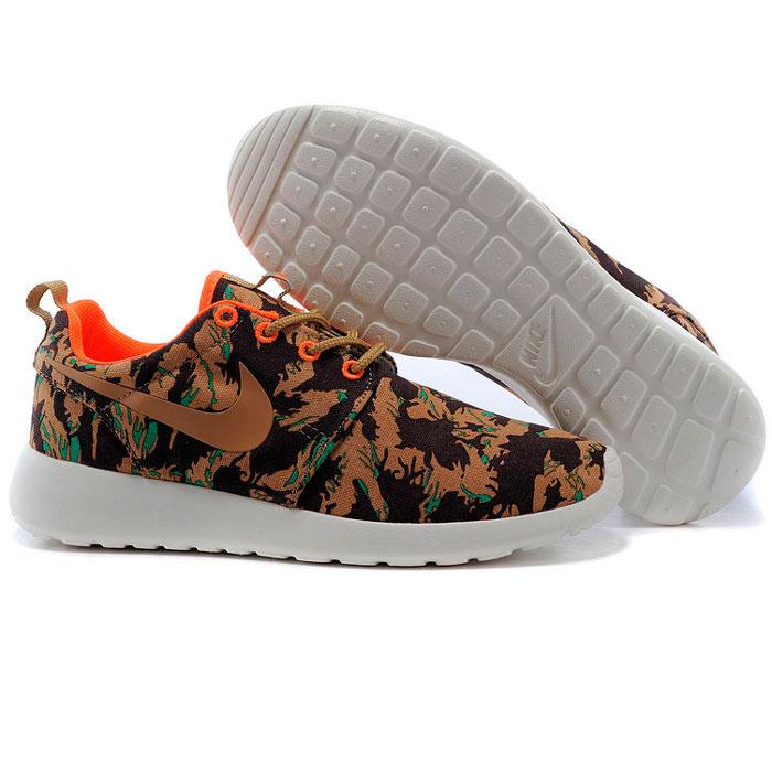 фото bottom Мужские кроссовки Nike Roshe Run хаки bottom