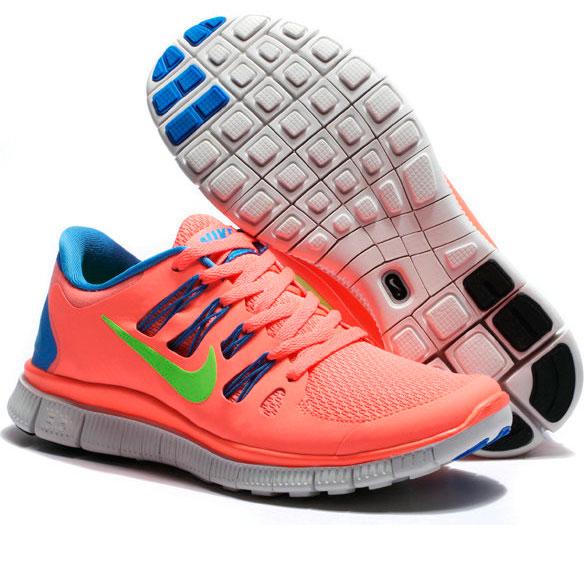 фото back Nike Free 5.0+ розовые 850591 568 back