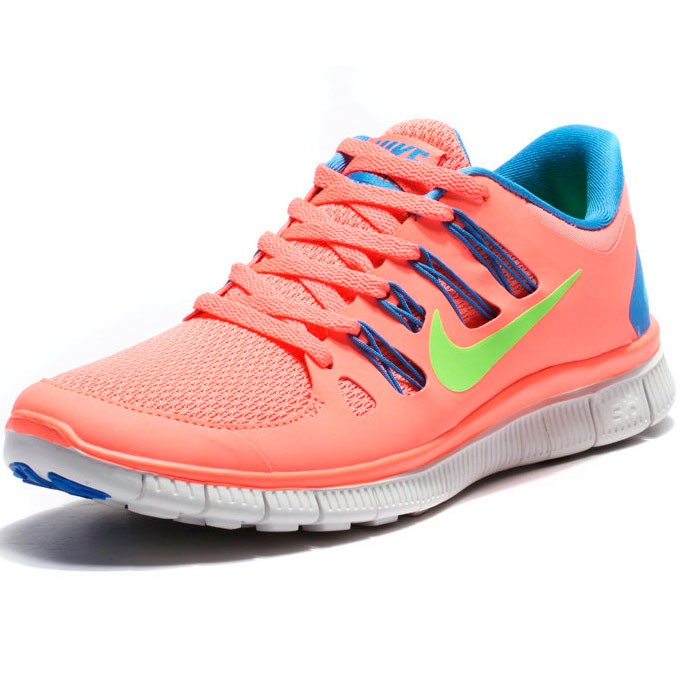 фото front Nike Free 5.0+ розовые 850591 568 front