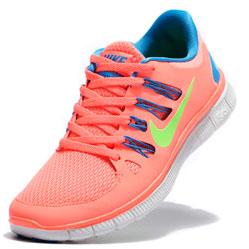 фото Nike Free 5.0+ розовые 850591 568