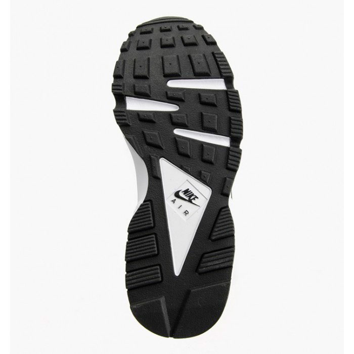 фото back Nike Huarache 318429 black-black-white back