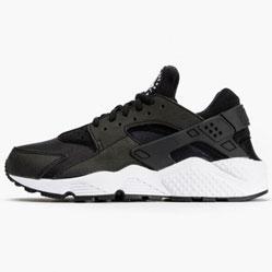 Nike Huarache 318429 black-black-white