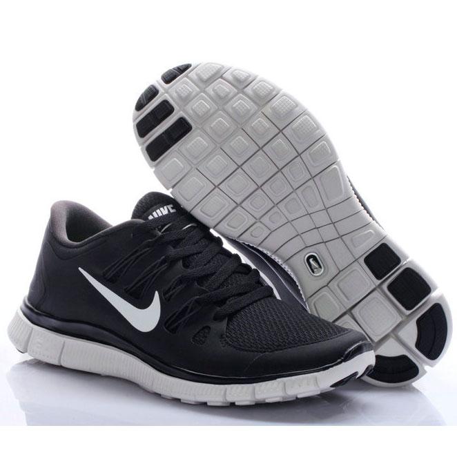 фото front Женские кроссовки для бега Nike Free 5.0+ черные front