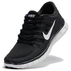 Женские кроссовки для бега Nike Free 5.0+ черные