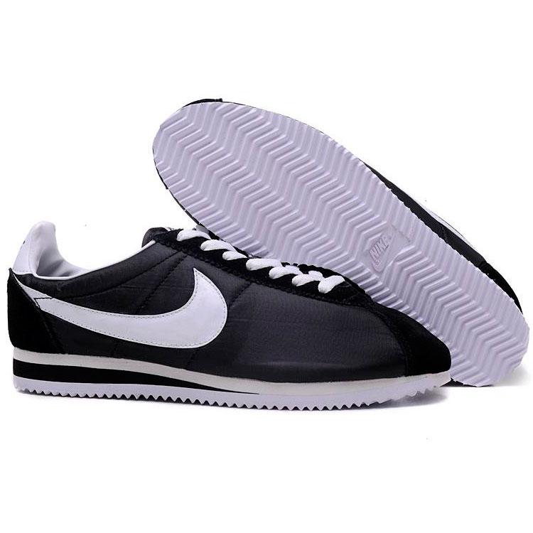 фото back Nike Classic Cortez Nylon 09 черные. Топ качество! back