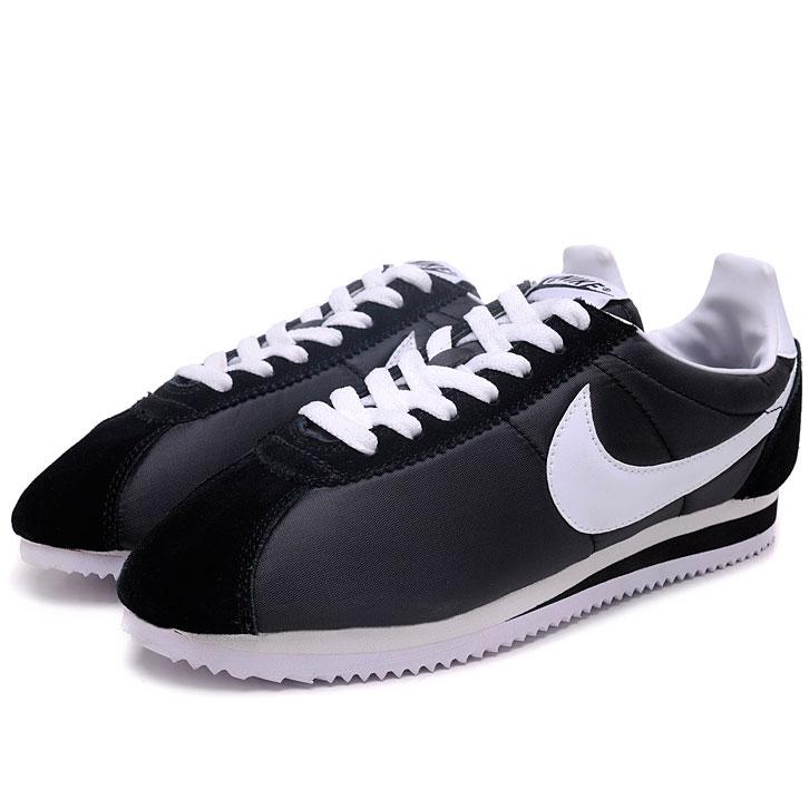 фото bottom Nike Classic Cortez Nylon 09 черные bottom