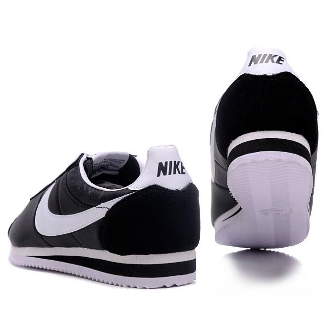 фото front Nike Classic Cortez Nylon 09 черные front