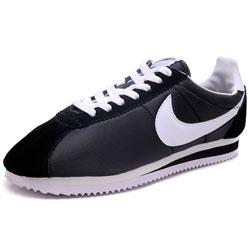 Nike Classic Cortez Nylon 09 (Black/white)