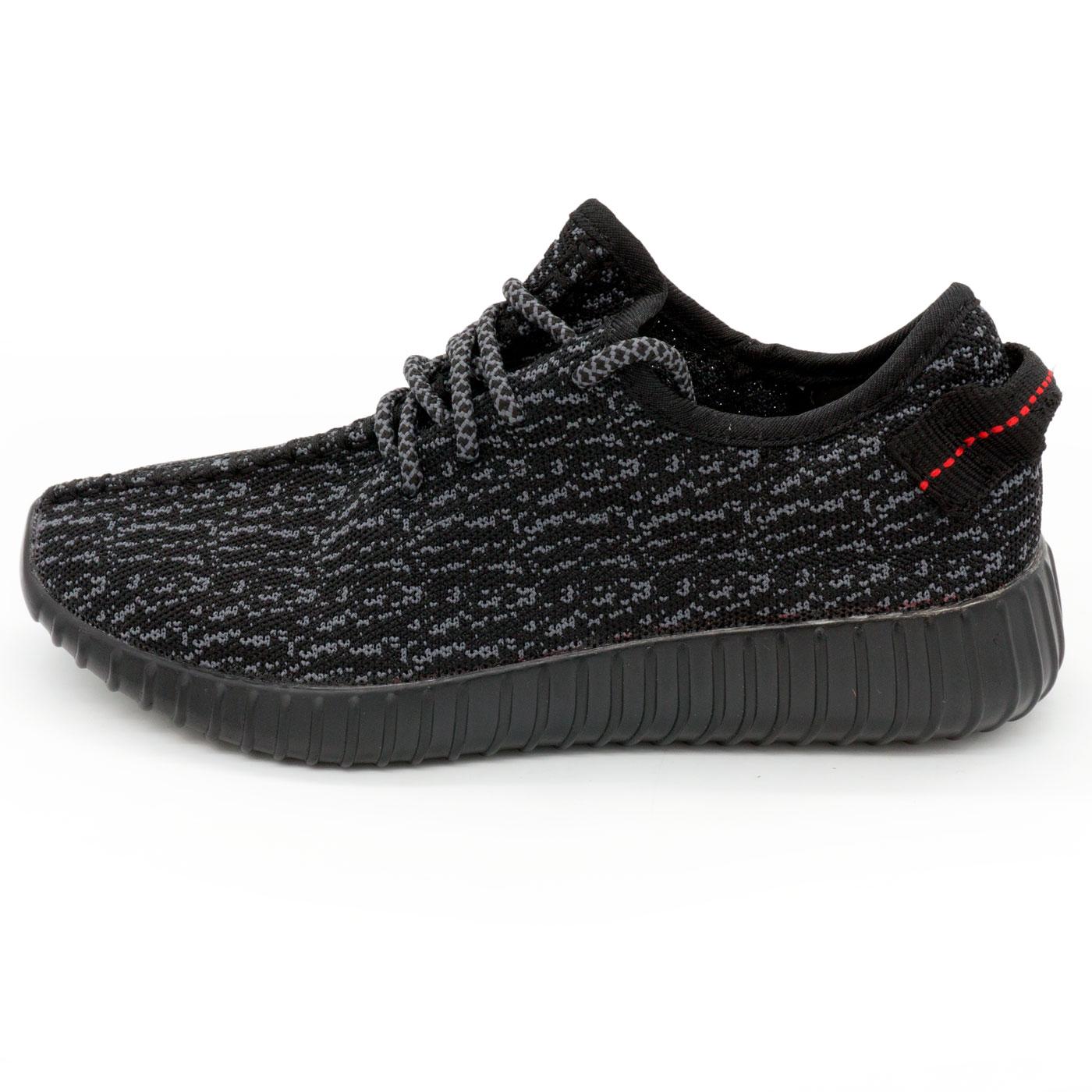 фото main Кроссовки Adidas Kanye West Yeezy 350 черные main