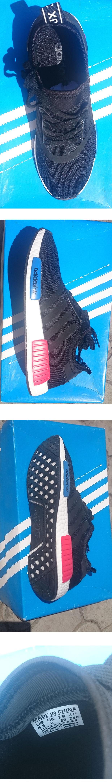 большое фото №6 Кроссовки Adidas boost NMD черные