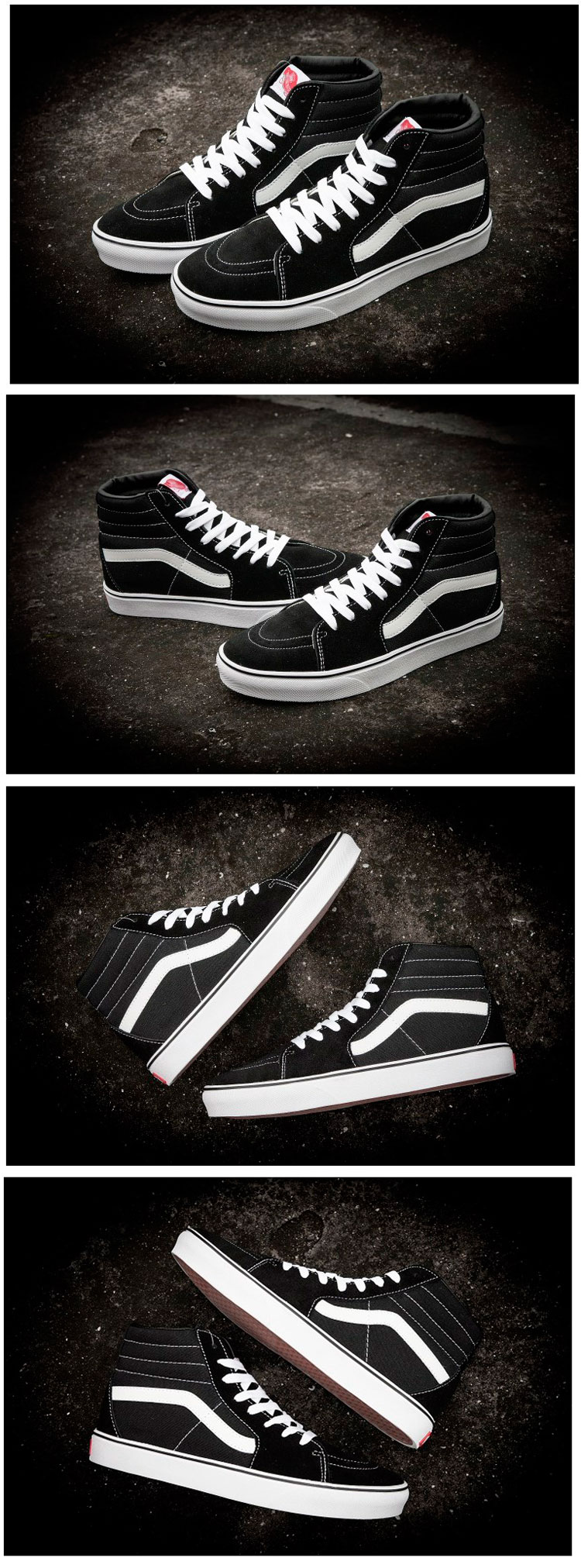 большое фото №6 Vans Classic old skool  Black White