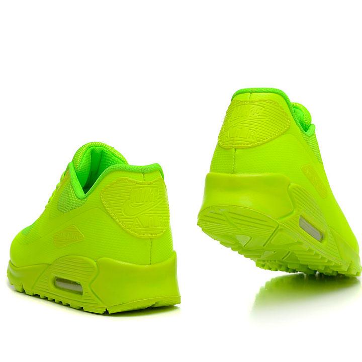 фото bottom Женские кроссовки Nike Air Max 90 салатовые Топ качество! bottom