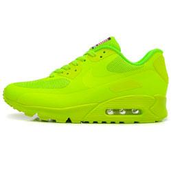 фото Женские кроссовки Nike Air Max 90 салатовые Топ качество!