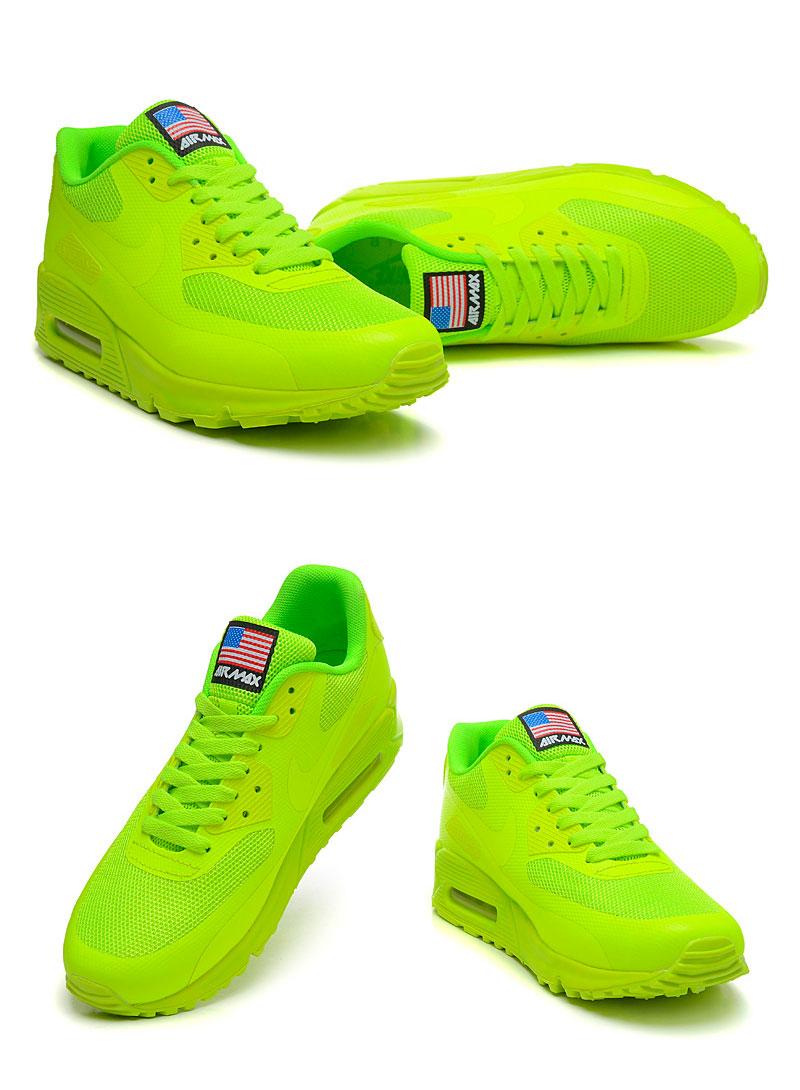большое фото №6 Женские кроссовки Nike Air Max 90 салатовые Топ качество!