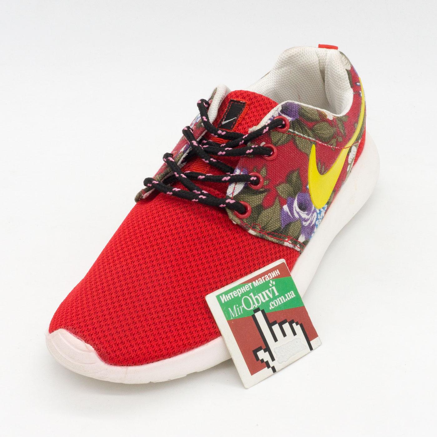фото front Nike Roshe Run  полностью черные 511881 066 front