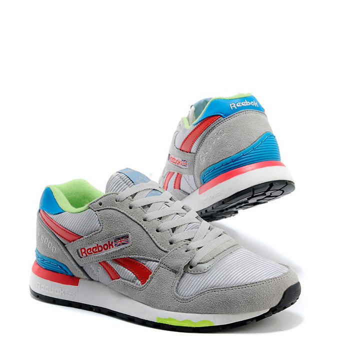 фото back Мужские кроссовки Reebok GL6000 V47347 GREY/ RED/BLUE back