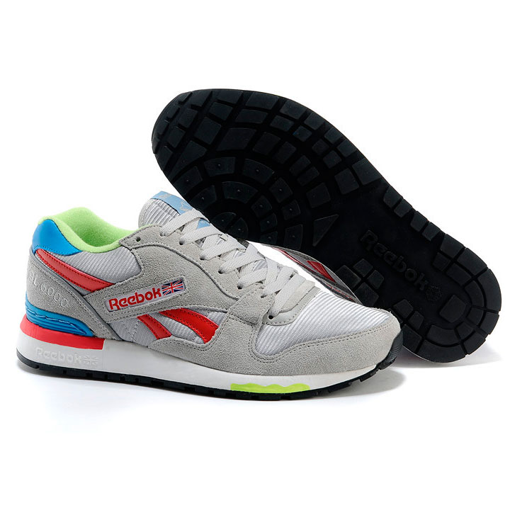 фото bottom Мужские кроссовки Reebok GL6000 V47347 GREY/ RED/BLUE bottom