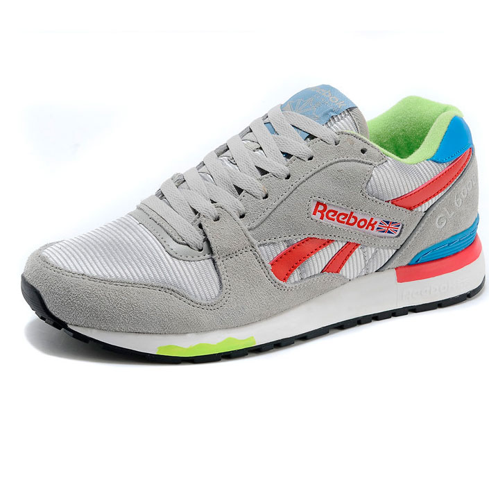 фото front Мужские кроссовки Reebok GL6000 V47347 GREY/ RED/BLUE front