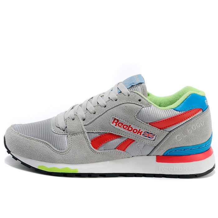 фото main Мужские кроссовки Reebok GL6000 V47347 GREY/ RED/BLUE main