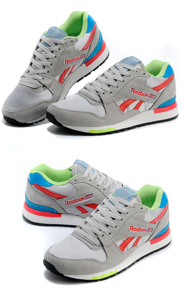 большое фото №6 Мужские кроссовки Reebok GL6000 V47347 GREY/ RED/BLUE