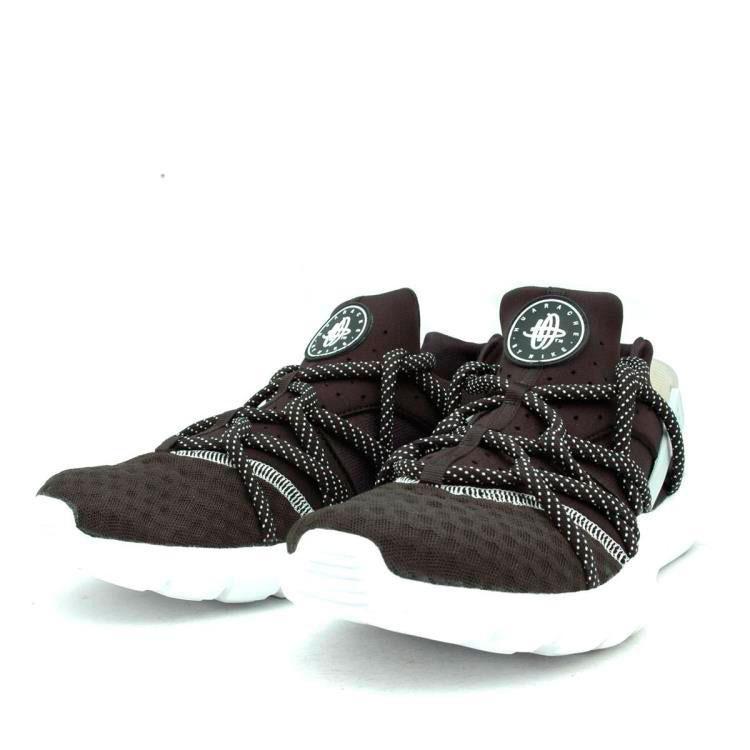 фото front Nike Huarache NM черно-белые. Топ качество! front