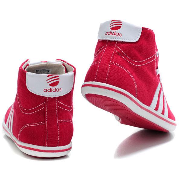 фото back Мужкие кроссовки Adidas NEO UNITY красные back
