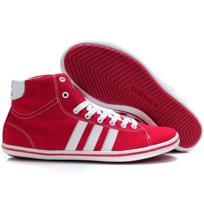 фото bottom Мужкие кроссовки Adidas NEO UNITY красные bottom