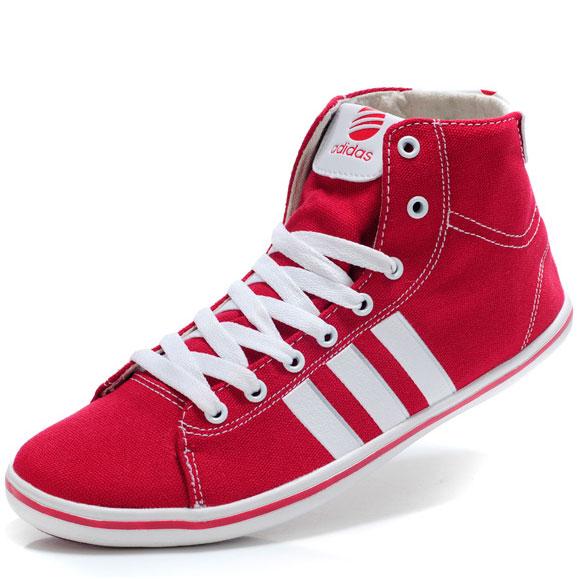 фото front Мужкие кроссовки Adidas NEO UNITY красные front