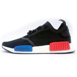 Кроссовки Adidas boost NMD черные - Топ качество