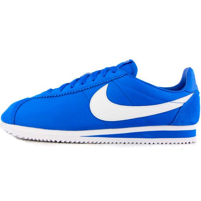 фото front Кроссовки Nike Classic Cortez Nylon 09 Синие. Топ качество! front