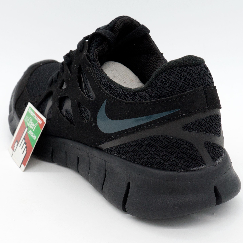 фото back Кроссовки для бега Nike Free Run 2 Найк Фри Ран, полностью черные back