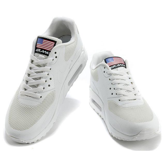 фото back Nike Air Max 90 белые - Топ качество! back