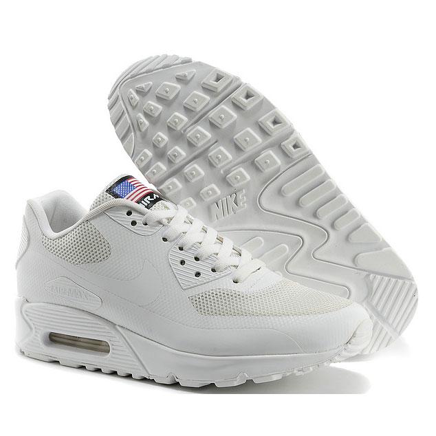 фото front Nike Air Max 90 белые - Топ качество! front