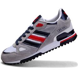 Adidas zx750 серые с синим - Топ качество