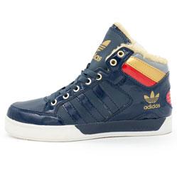 Зимние кроссовки Adidas G21398 синие