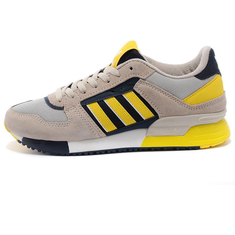 фото bottom Adidas zx630 серые с желтым - Топ качество bottom