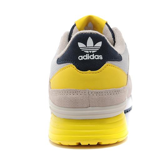 фото front Adidas zx630 серые с желтым - Топ качество front