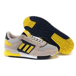 Adidas zx630 серые с желтым - Топ качество