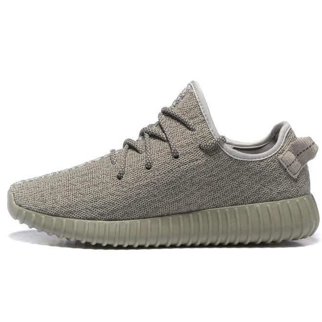 фото main Мужские кроссовки Adidas Kanye West Yeezy 350 серые - Топ качество main