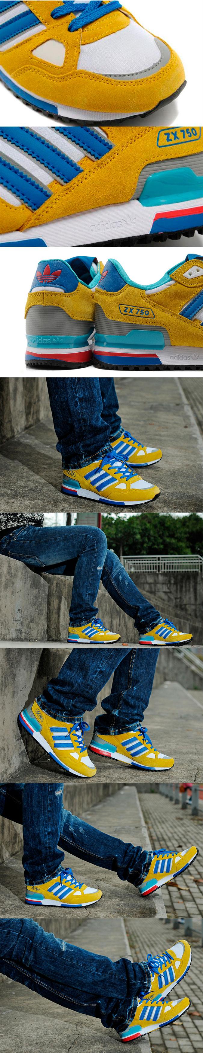 большое фото №6 Adidas zx750 G64039